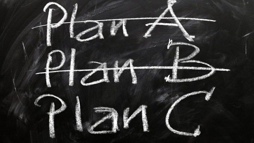 De ce nu ai nevoie de un plan de rezerva